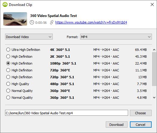 New 4K Video Downloader 4.16