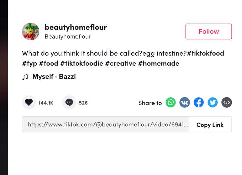 TikTok hashtags