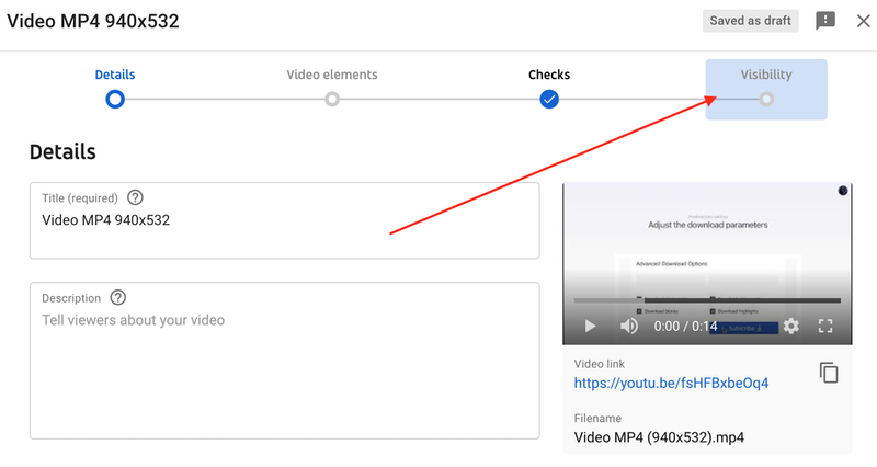Make the video either private or unlisted