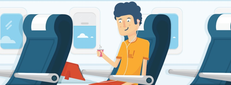 How To Watch Videos On An Airplane Without Internet