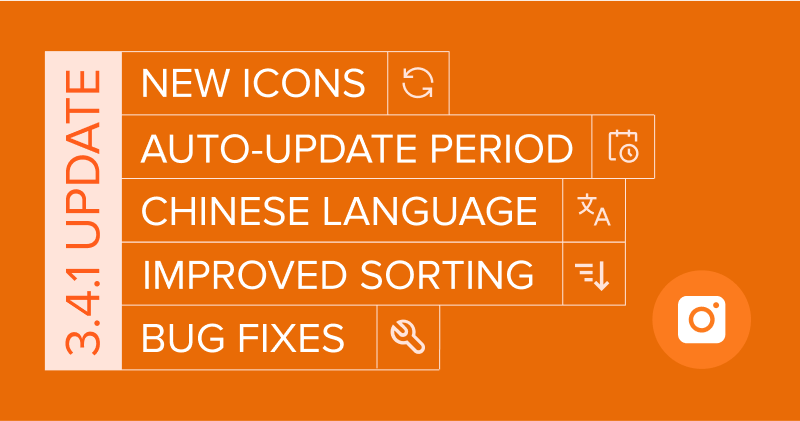 Meet New 4K Stogram 3.4.1: New Sorting Options, New Icons and More