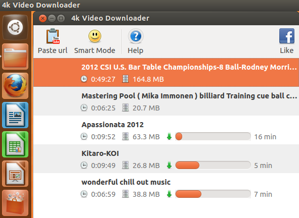New 4K Video Downloader Feature: Copy/Paste Multiple URLs For Simultaneous Downloading